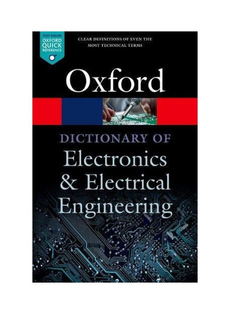 Dictionary Of Electronics And Electrical Engineering Paperback 5