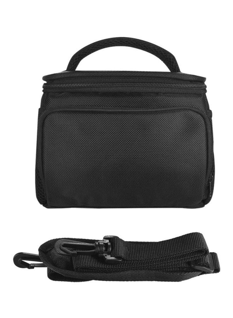 Messenger Camera Bag For Andoer Camcorder/DV Sony A7/NEX Series Canon M Series Black