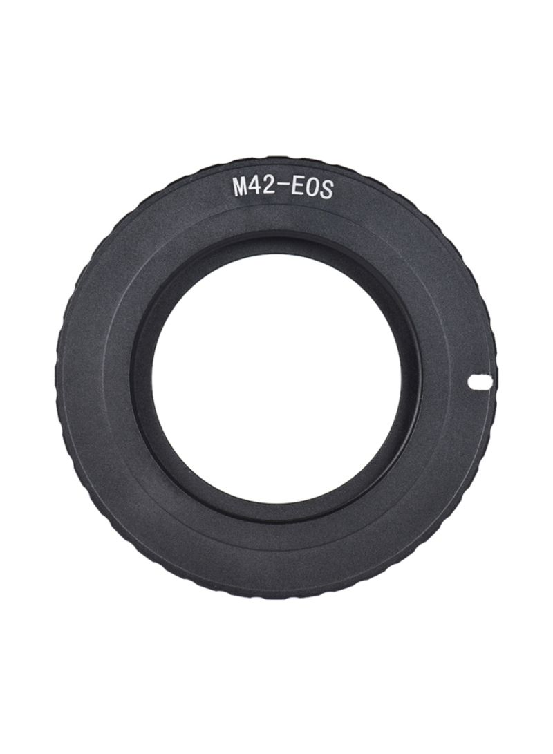 Lens Mount Adapter Ring For Canon EOS 5D/5D2/5D3/7D/60D/450D/550D/600D/750D/760D Black
