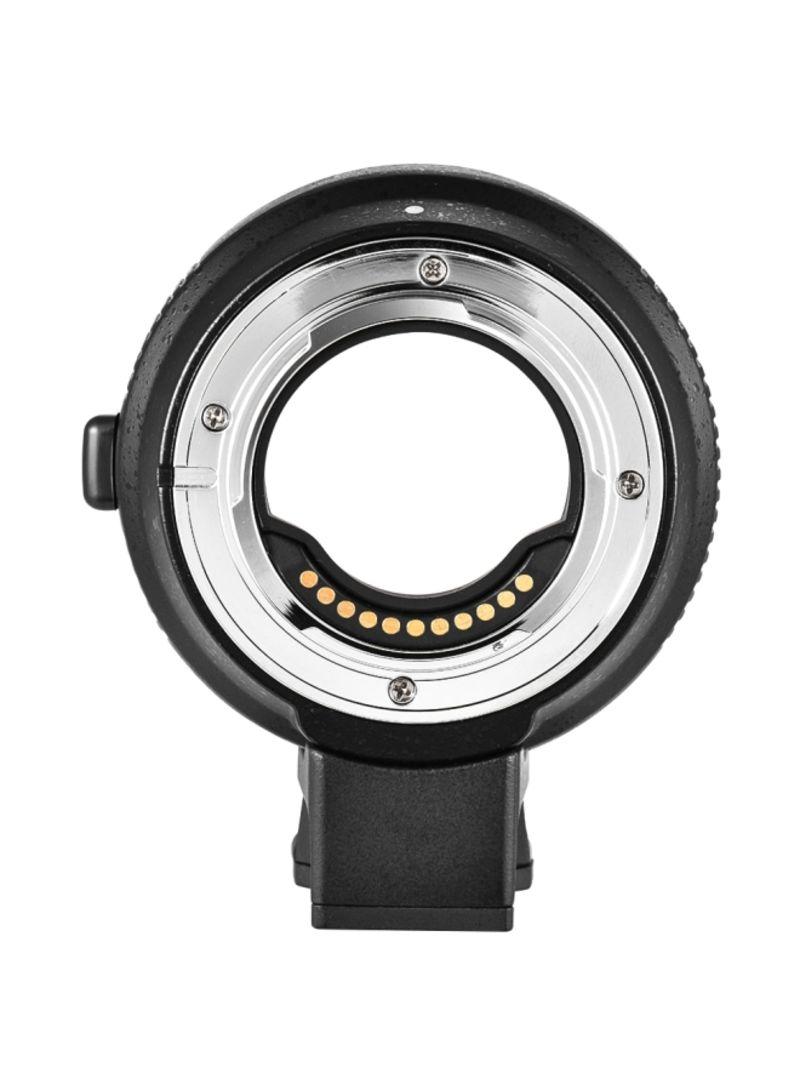 CM-AEF-MFT Lens Mount Adapter Ring For Sony EF/EF-S Lens To M4/3/Panasonic GH5/GH3/GH4/GX7/GF5/GF6/GX1/GM/Olympus PL5 PL6 OM-D E-M5 E-M1 Black/Silver
