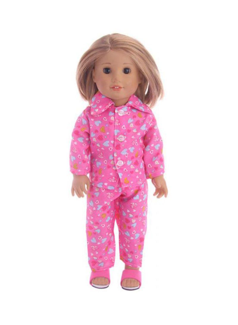 American Girl Doll Pajamas Sleepwear 18 inch