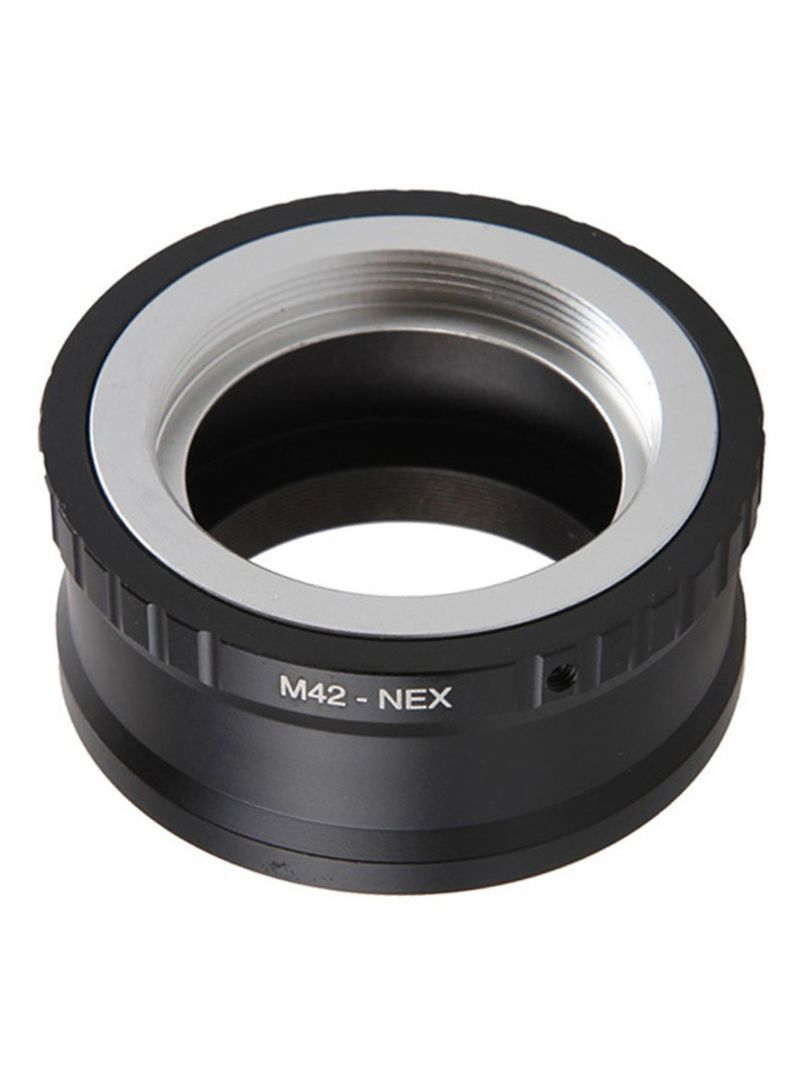 M42 To E-Mount NEX Adapter Screw Lens For Sony Black/Silver