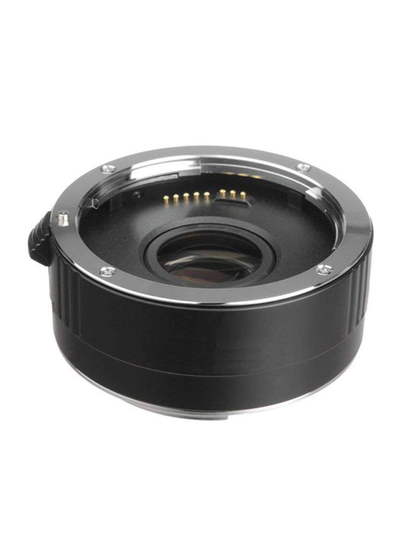 EOS Rebel T6 2x High Grade Teleconverter Lens For Sony Alpha Camera Black