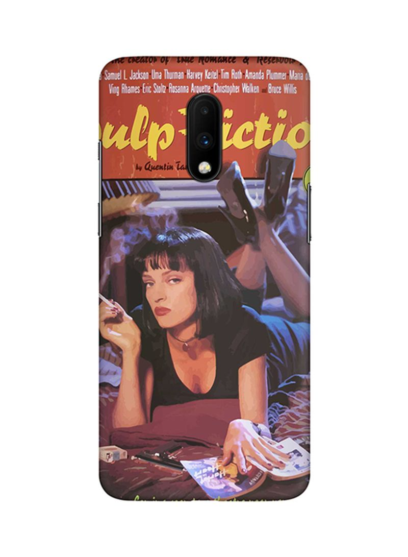 Protective Case Cover For OnePlus 7 Pulp Fiction
