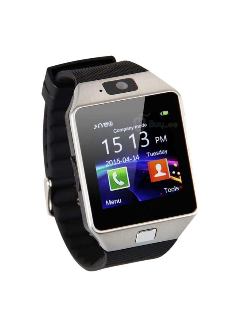 1.54-Inch IPS Display Bluetooth Sim Card Supported Smartwatch Black/Silver
