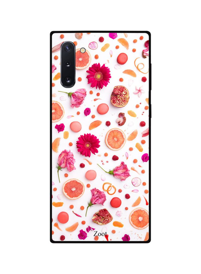 Protective Case Cover For Samsung Note 10 Flowers Fruits