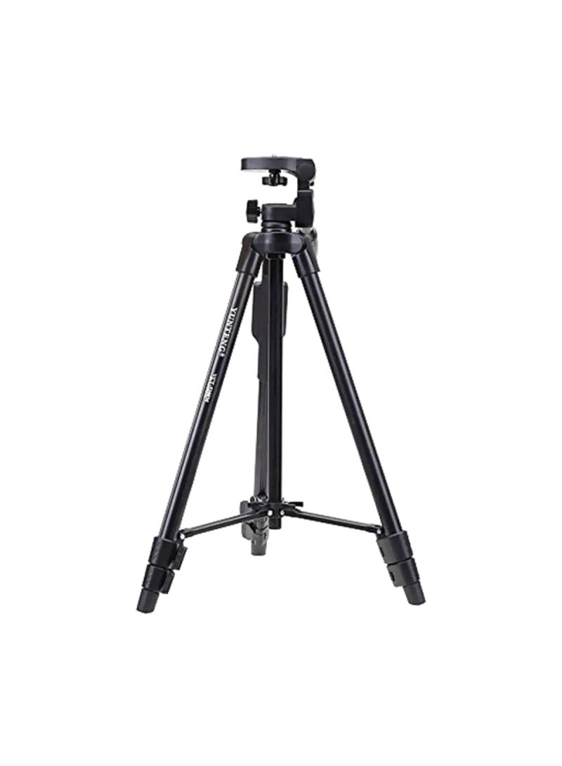 Aluminum Lightweight Tripod With Bluetooth Remote Black
