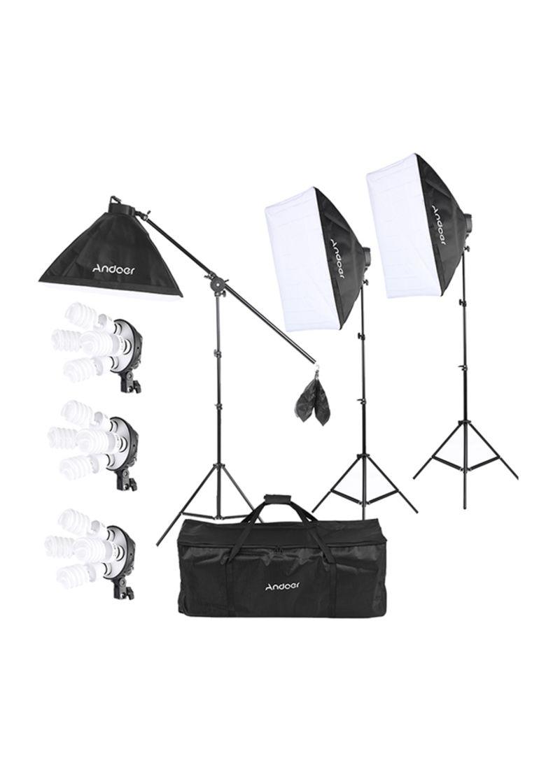 Studio Photo Video Lighting Kit Multicolour