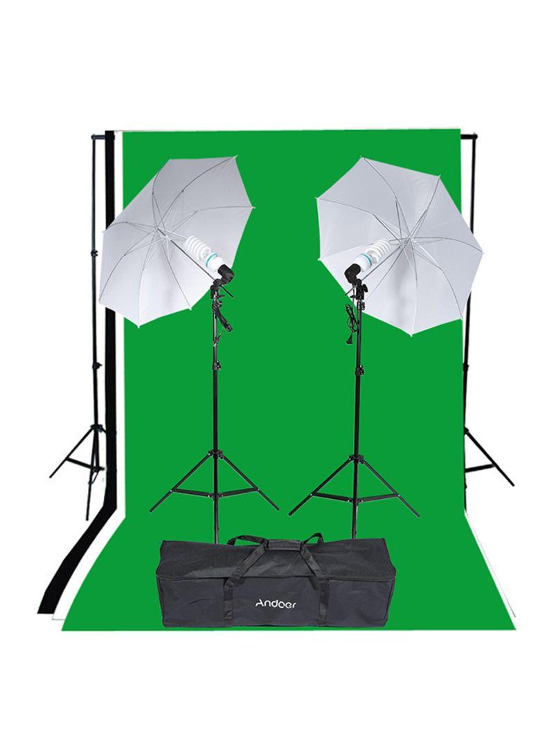 Photography Studio Lighting Tent Kit Multicolour