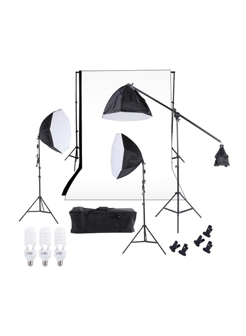 Photography Studio Lighting Softbox Kit Multicolour