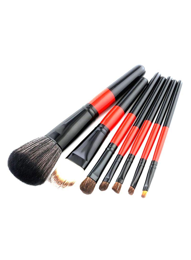 7-Piece Eyeshadow Brush Set Multicolour