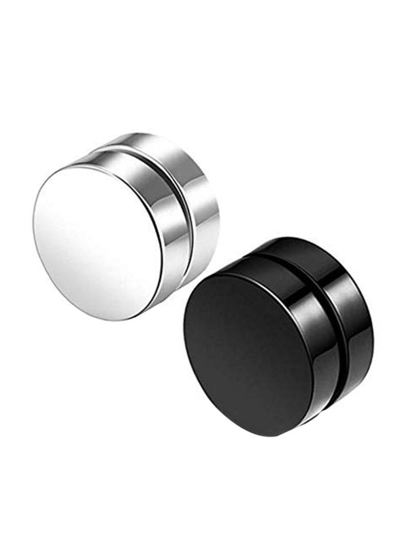 Magnet Titanium Steel Non Pierced Stud Earrings