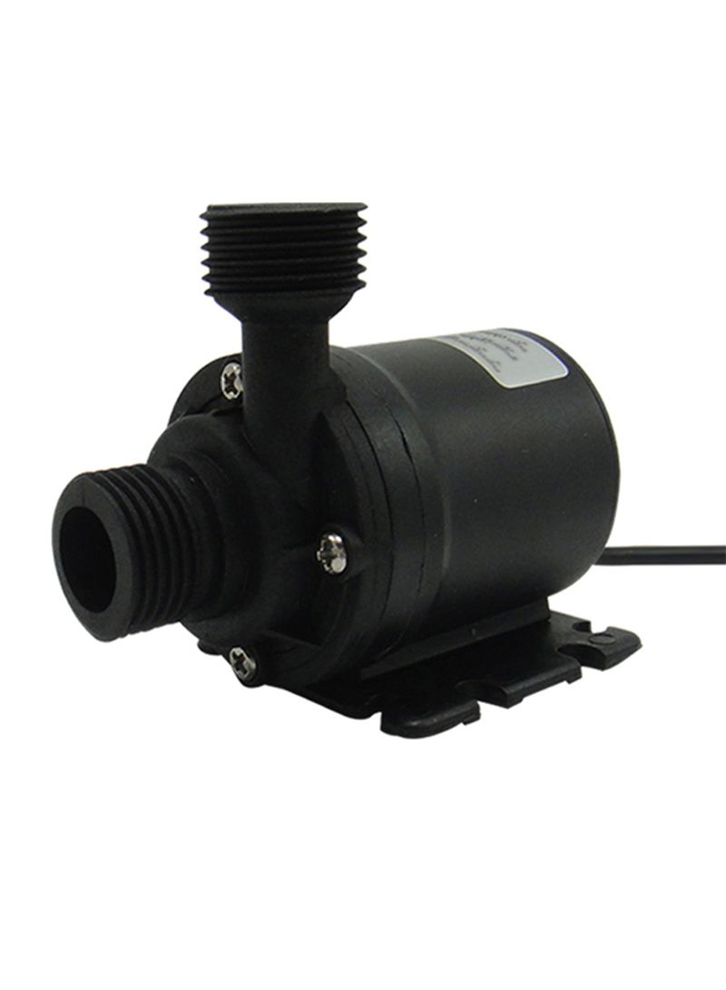 Mini Brushless Submersible Motor Water Pump Black