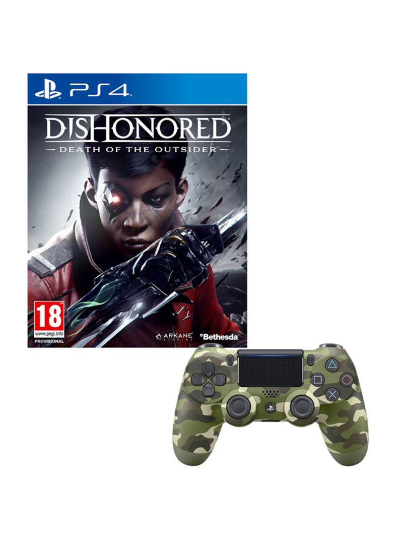 Dishonored: Death of The Outsider  With Controller