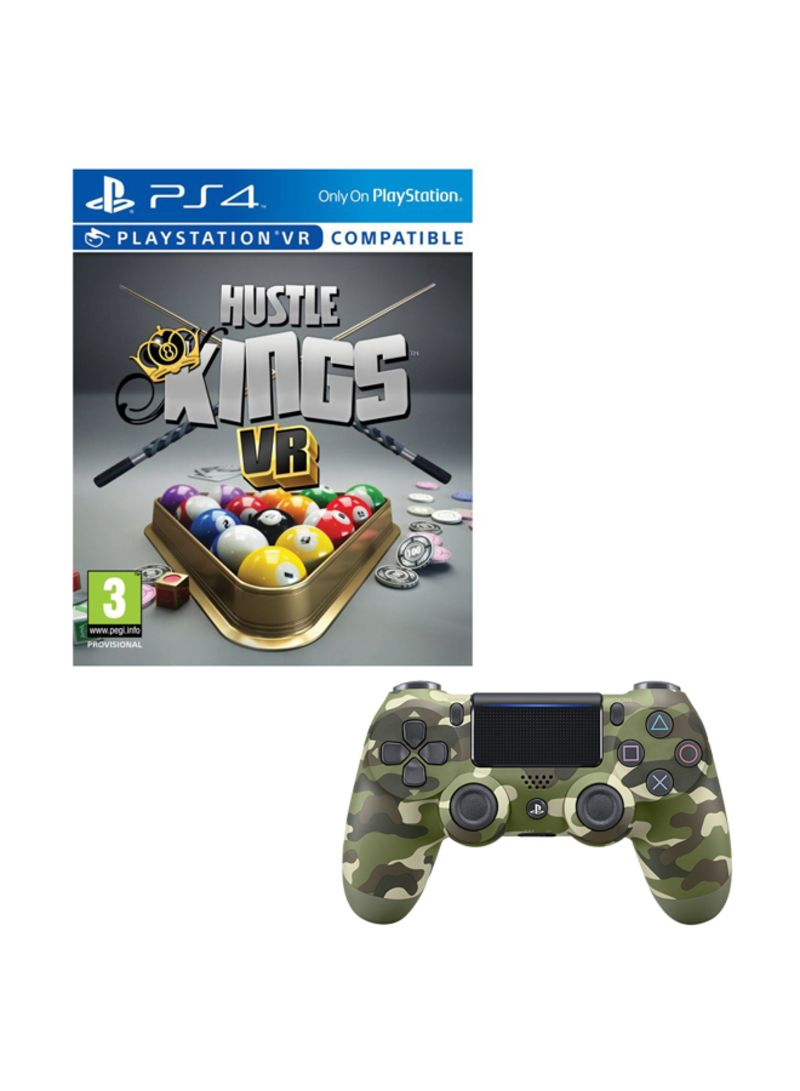 Hustle Kings VR (PlayStation VR And PlayStation Camera Required)  With Controller