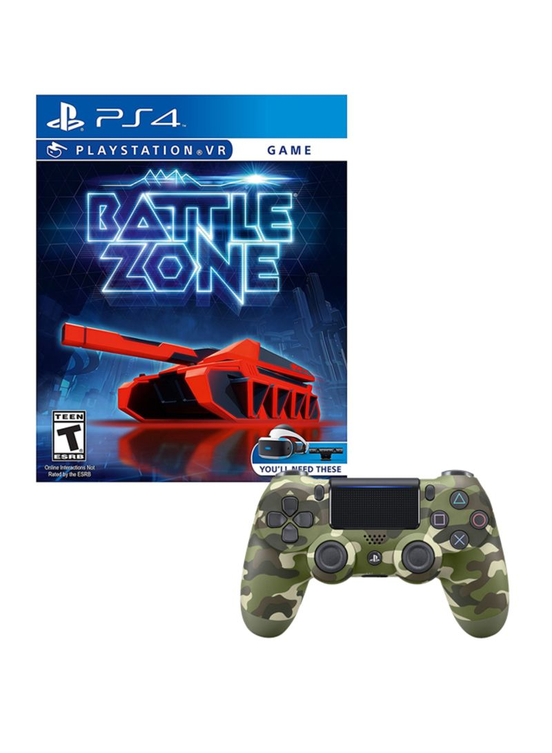 Battlezone Playstation VR  With Controller