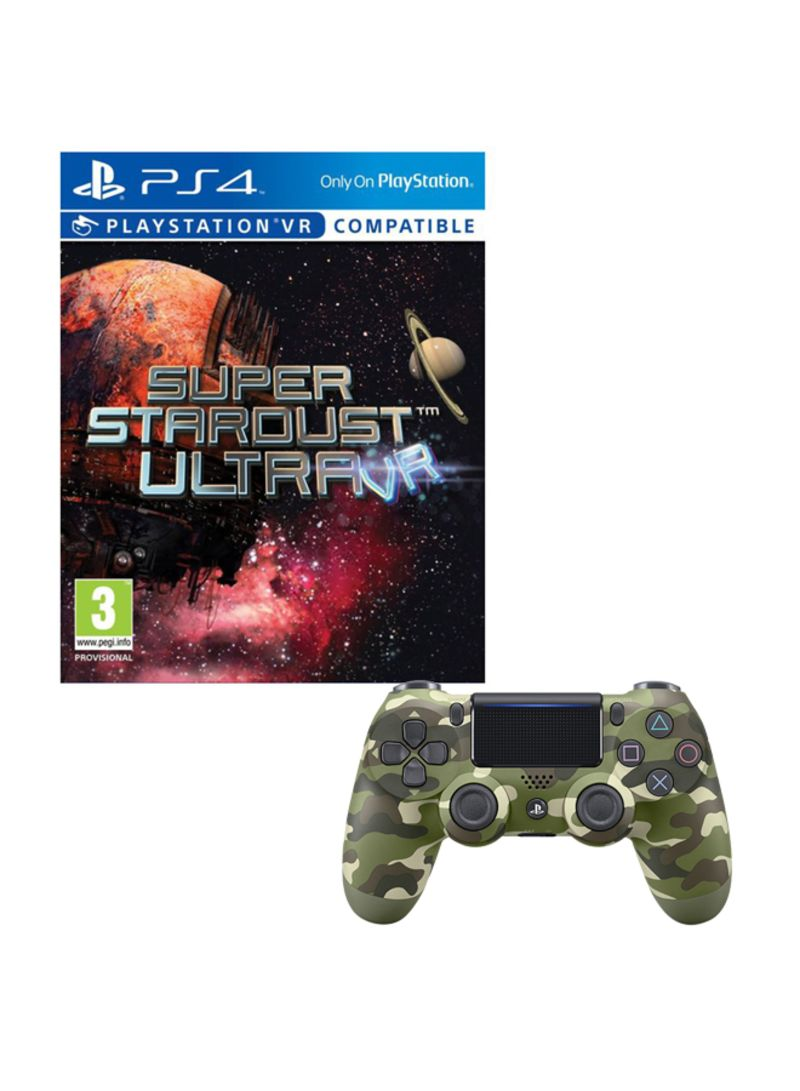 Super Stardust Ultra VR (PlayStation VR And PlayStation Camera Required)  With Controller