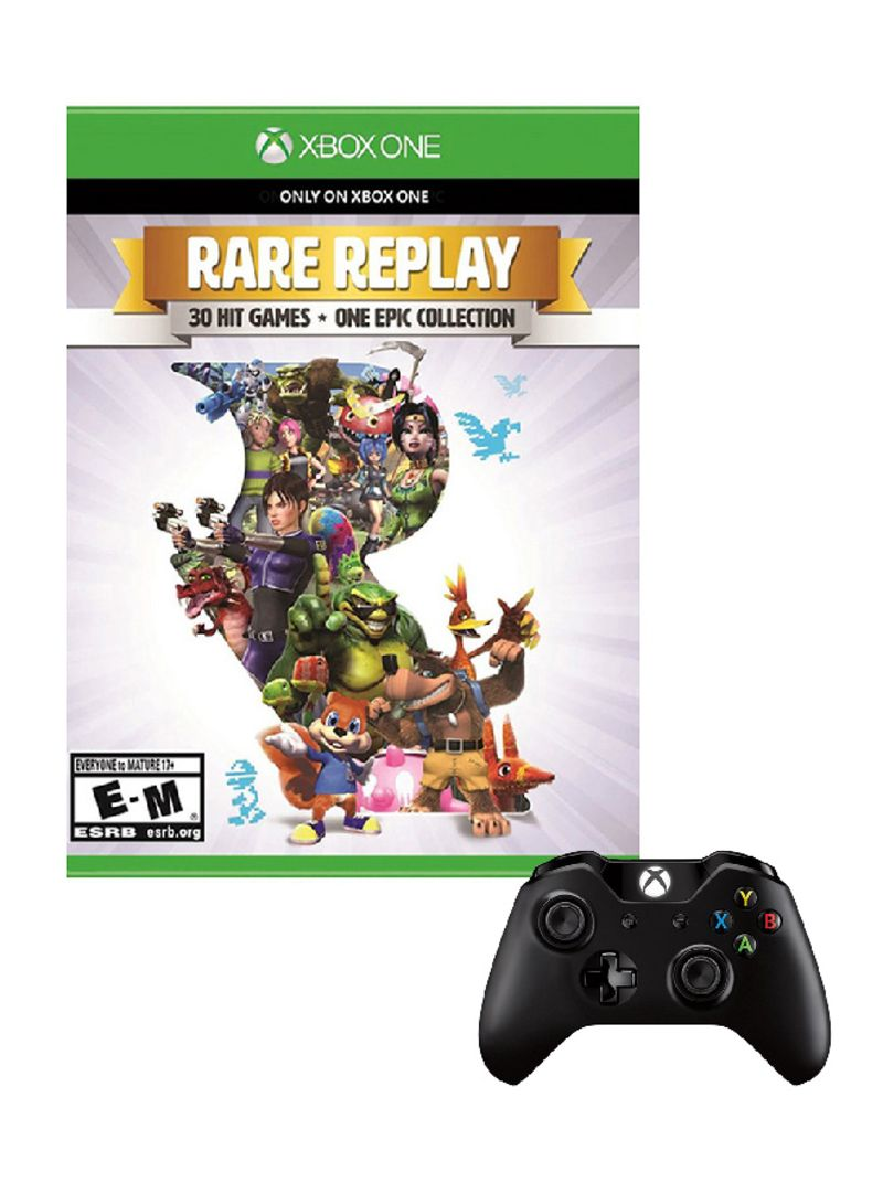 Rare Replay 30 Hit Games One Epic Collection - NTSC With Controller - Xbox One