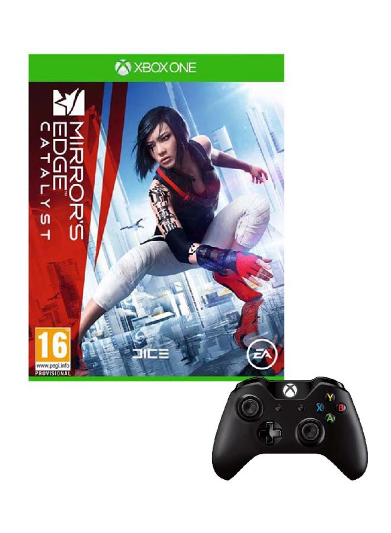 Mirrors Edge Catalyst With Controller - Xbox One