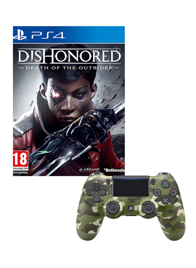 Dishonored Death Of The Outsider - Region 2  With Controller