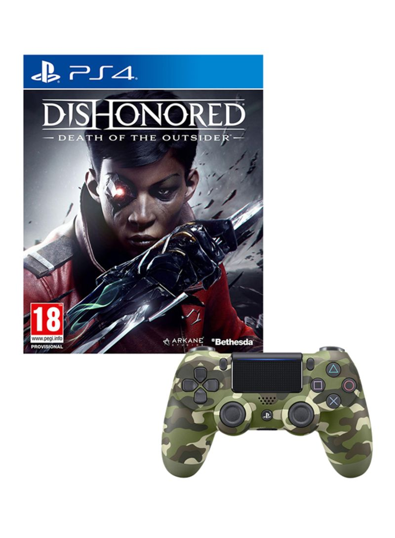 Dishonored Death Of The Outsider  With Controller