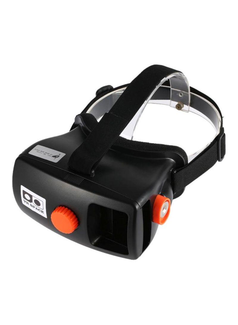 Head-Mounted VR Headset LU-V1589 Black/Orange