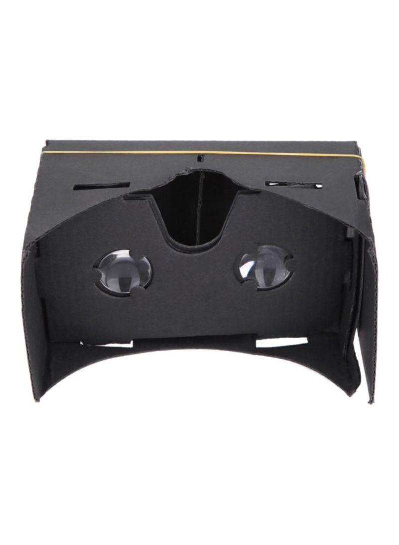 Head-Mounted 3D Virtual Reality Headset Black