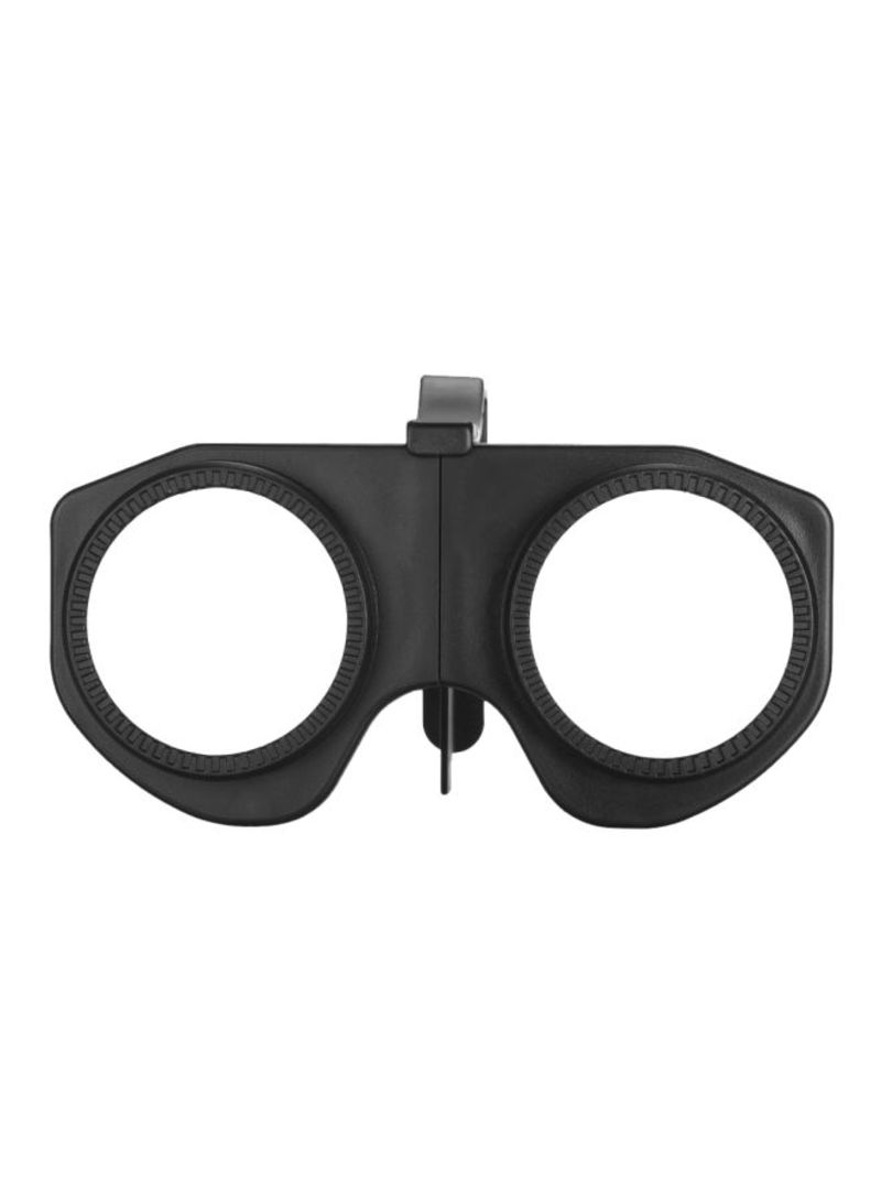 3D VR Foldable Glasses Black