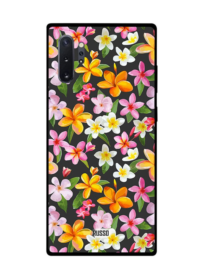 Protective Case Cover For Samsung Note 10 Pro Printed Flowers Art
