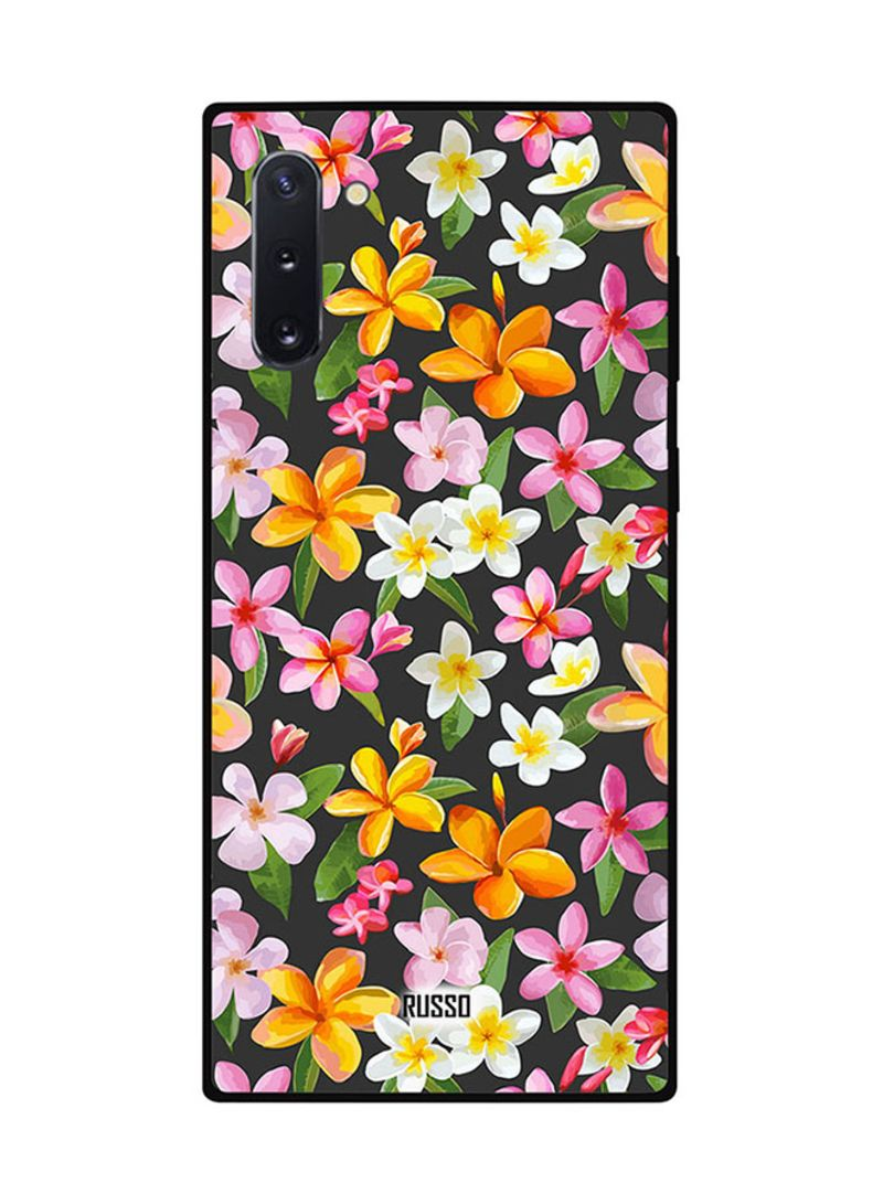 Protective Case Cover For Samsung Note 10 Printed Flowers Art