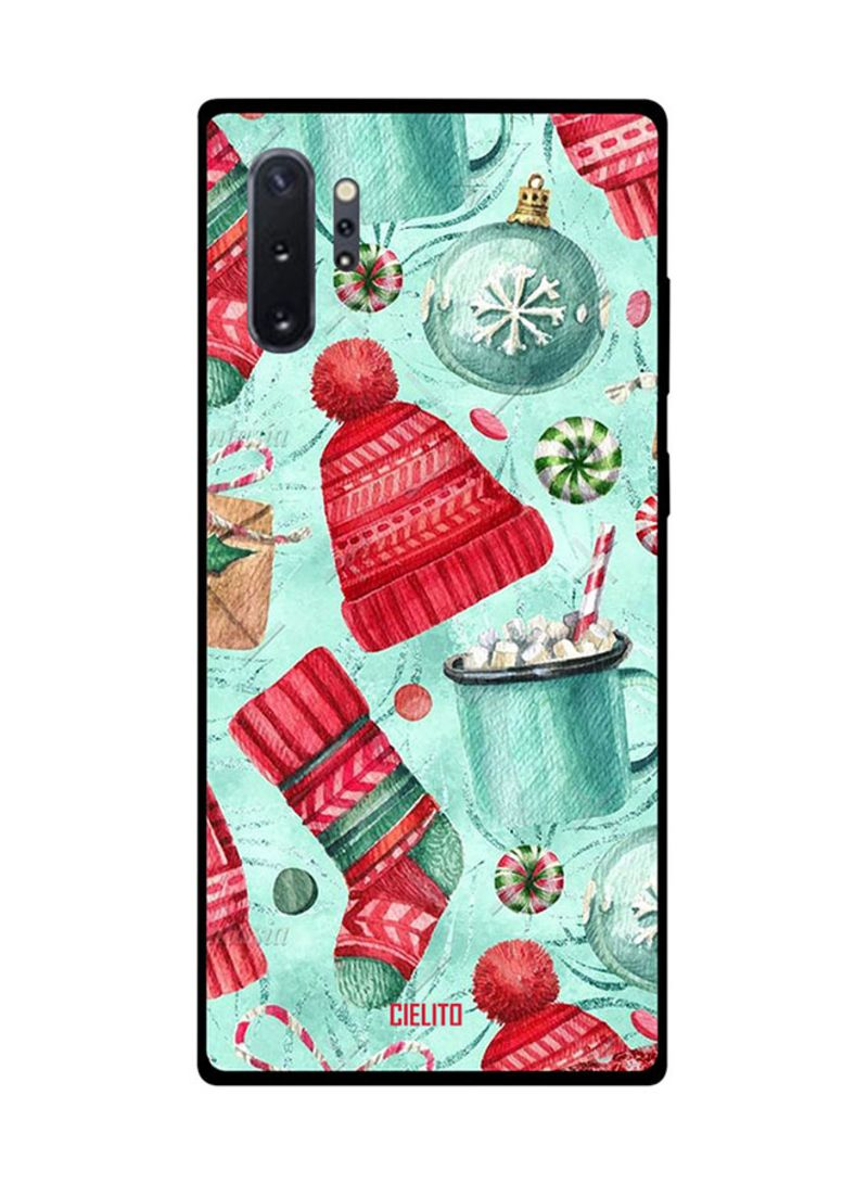 Protective Case Cover For Samsung Note 10 Pro Winter Cap & Socks
