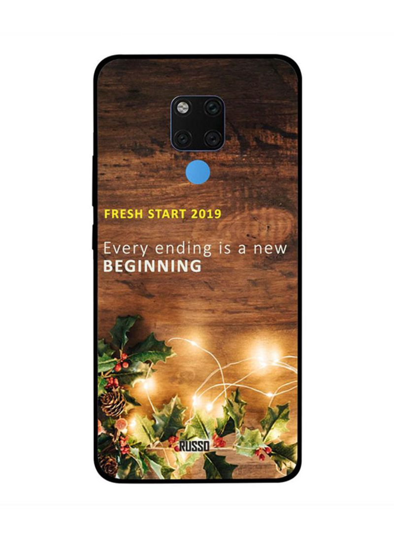 Huawei Mate 20X Case Cover Fresh Start