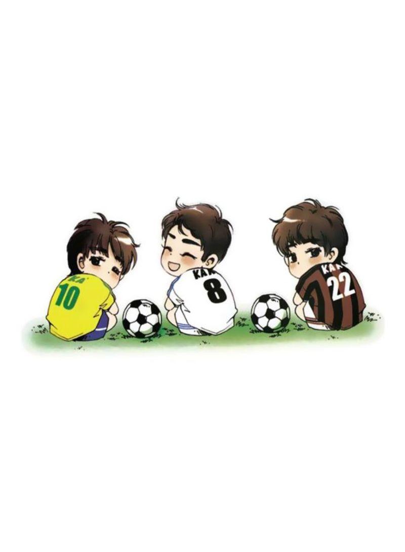 Decorative Football Cartoon Car Sticker