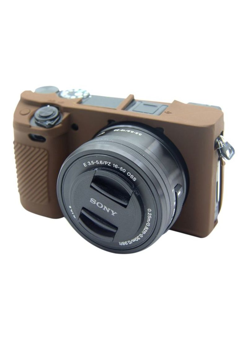 Protective Case For Sony ILCE-6300 Coffee