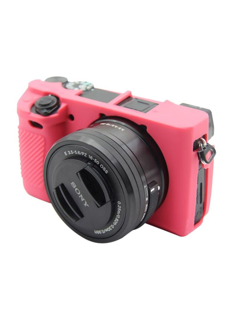 Protective Case For Sony ILCE-6300 Rose Red