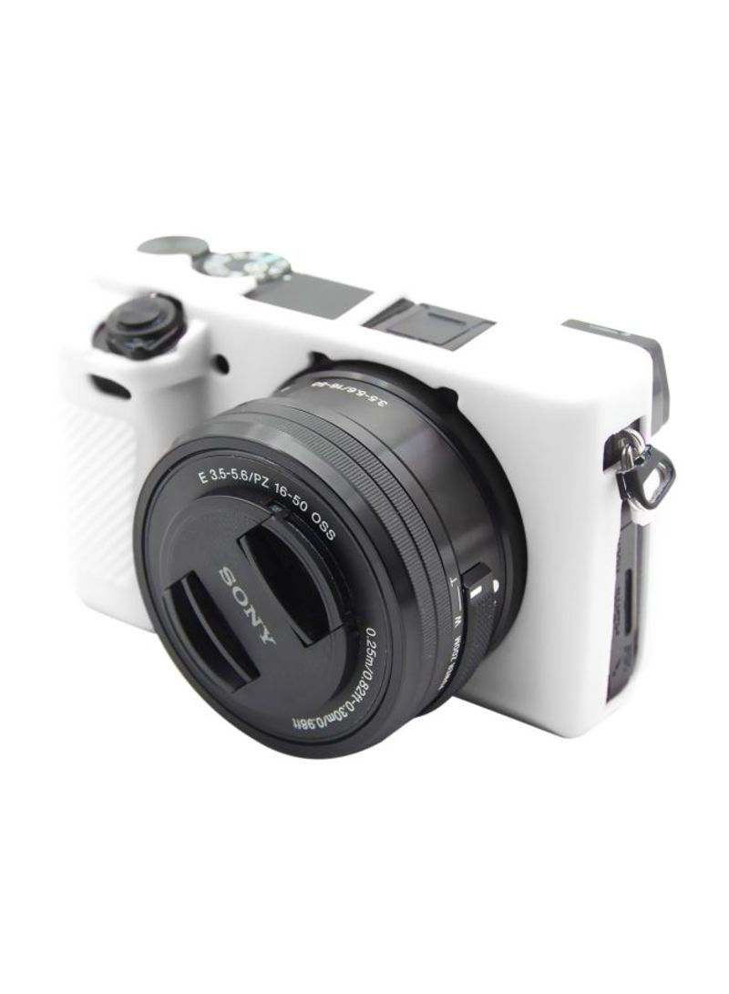 Protective Case For Sony ILCE-6300 White