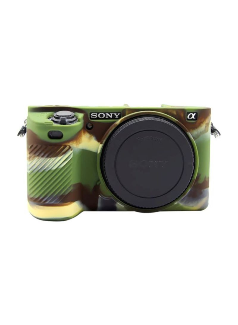 Protective Case For Sony ILCE-6500 Camouflage