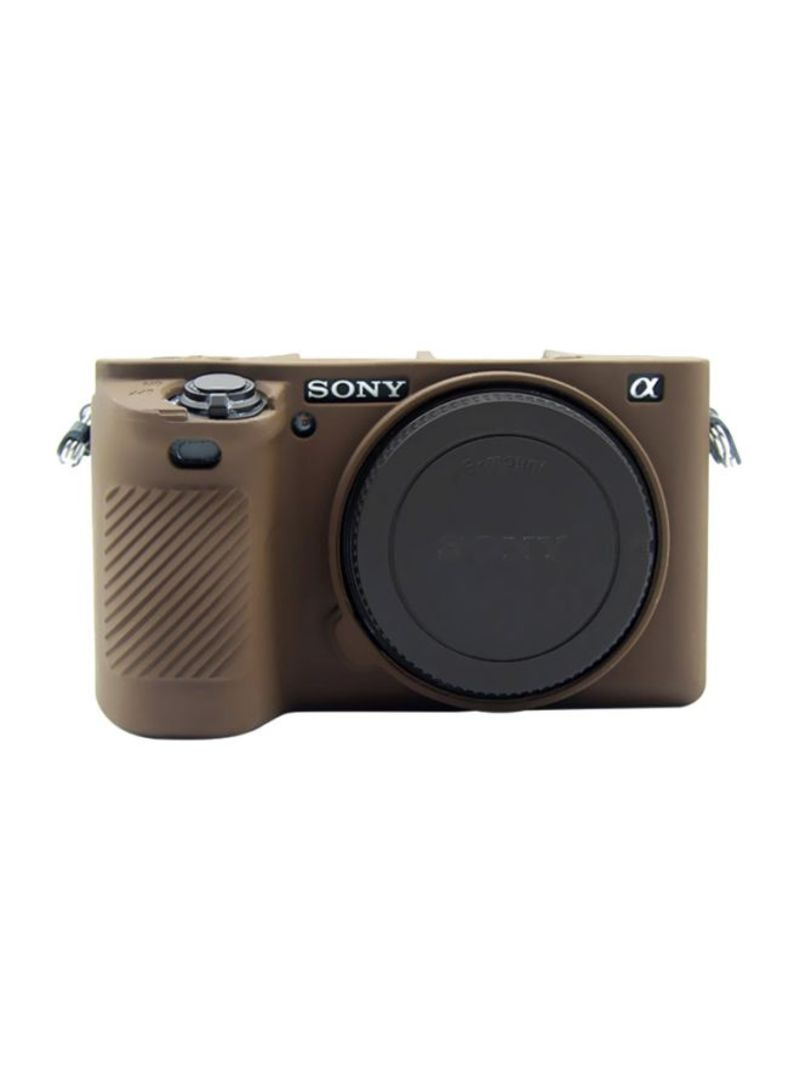 Protective Case For Sony ILCE-6500 Coffee