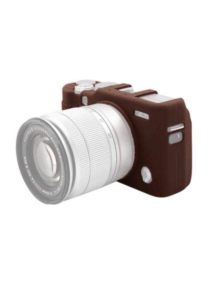 Protective Case For Fujifilm X-A3/X-A10 Coffee