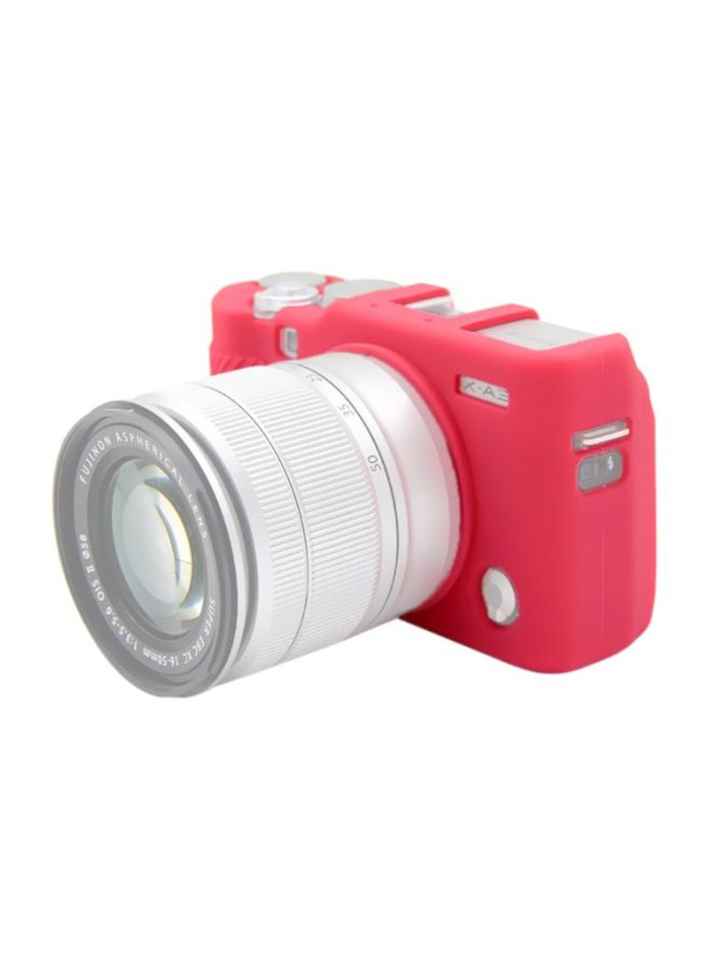 Protective Case For Fujifilm X-A3/X-A10 Rose Red