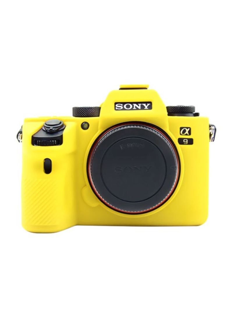 Protective Case For Sony A9(ILCE-9)/A7III/A7RIII Yellow