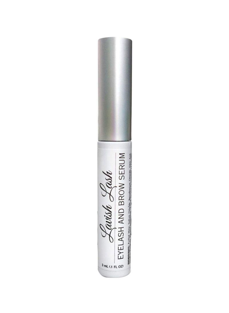 Lavish Lash Eyelash Growth Enhancer And Brow Serum Black