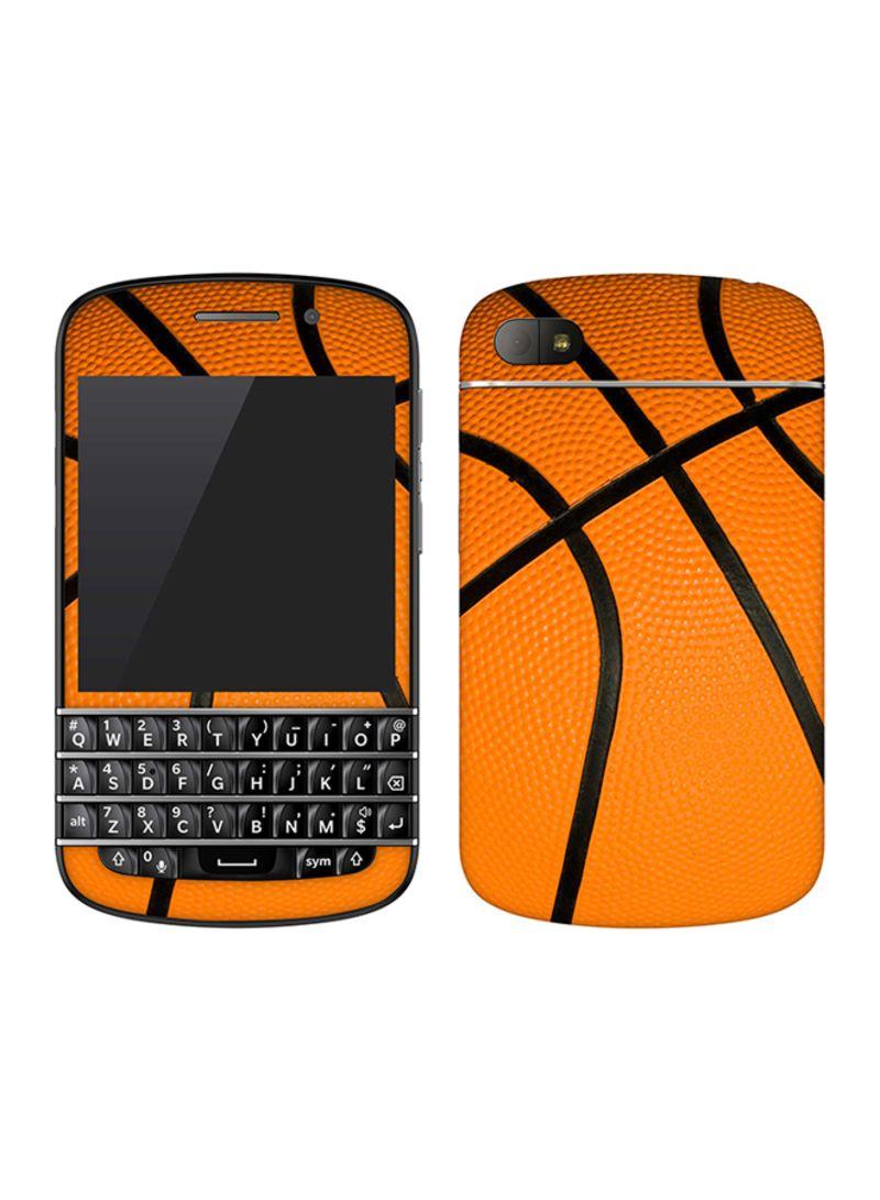 Vinyl Skin Decal For BlackBerry Q10 Basketball