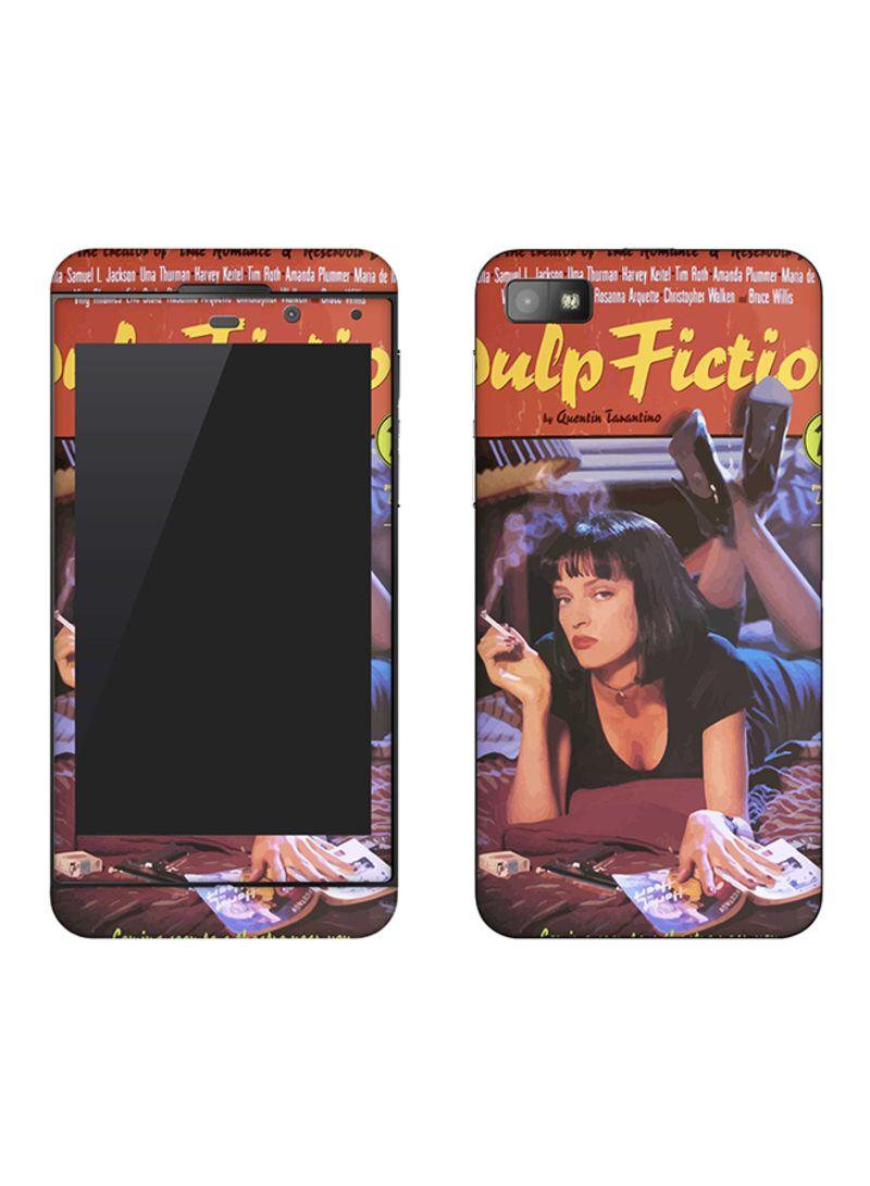 Vinyl Skin Decal For BlackBerry Z10 Pulp Fiction
