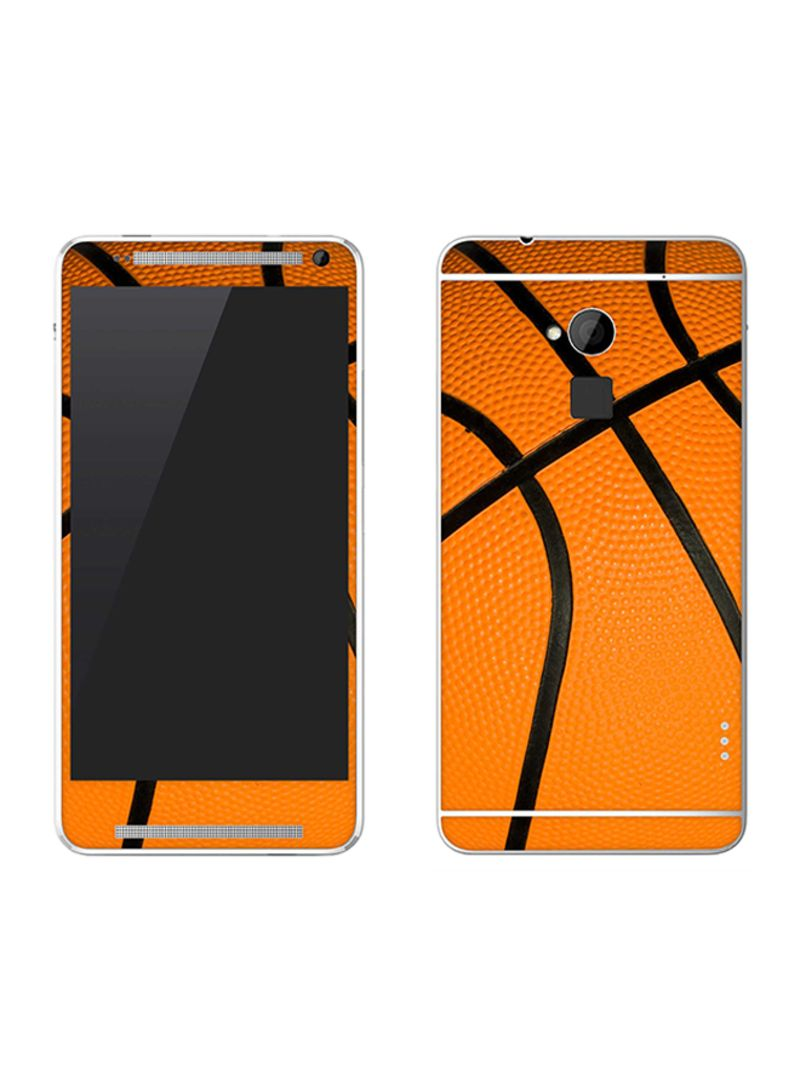 Vinyl Skin Decal For HTC One Max Basketball
