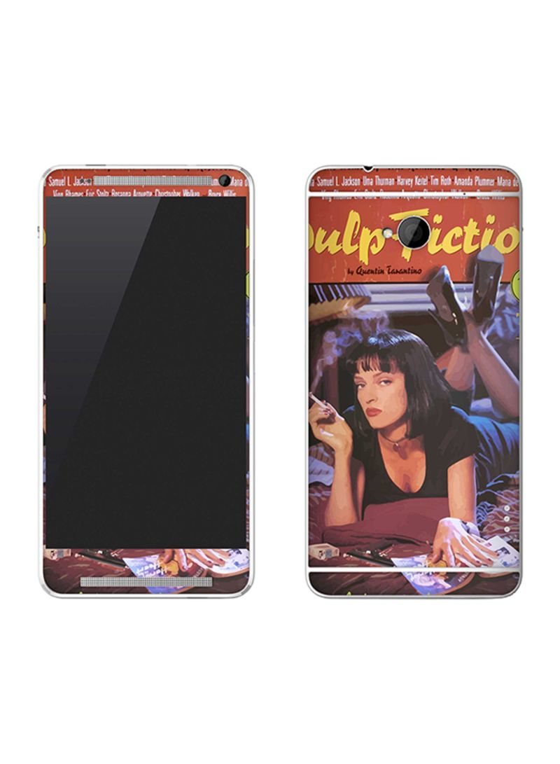 Vinyl Skin Decal For HTC One Pulp Fiction