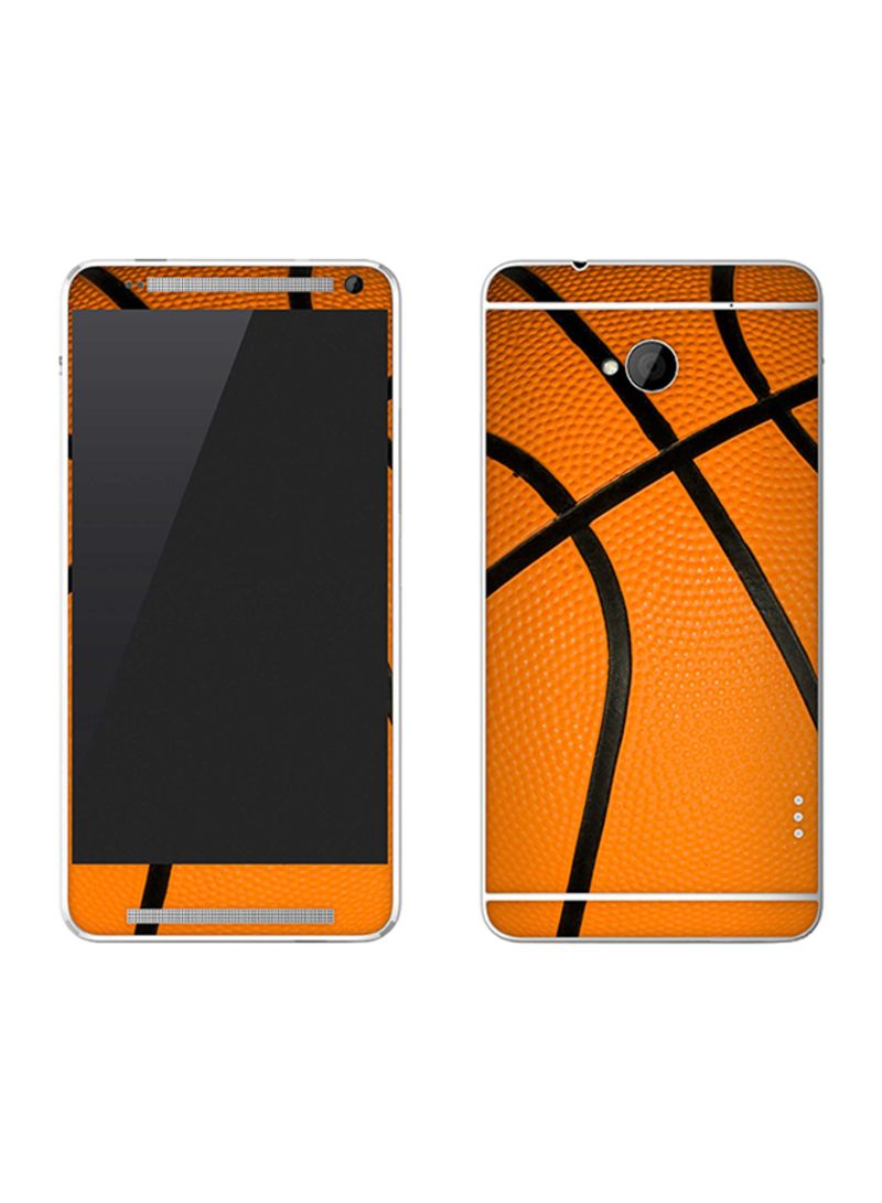 Vinyl Skin Decal For HTC One Basketball