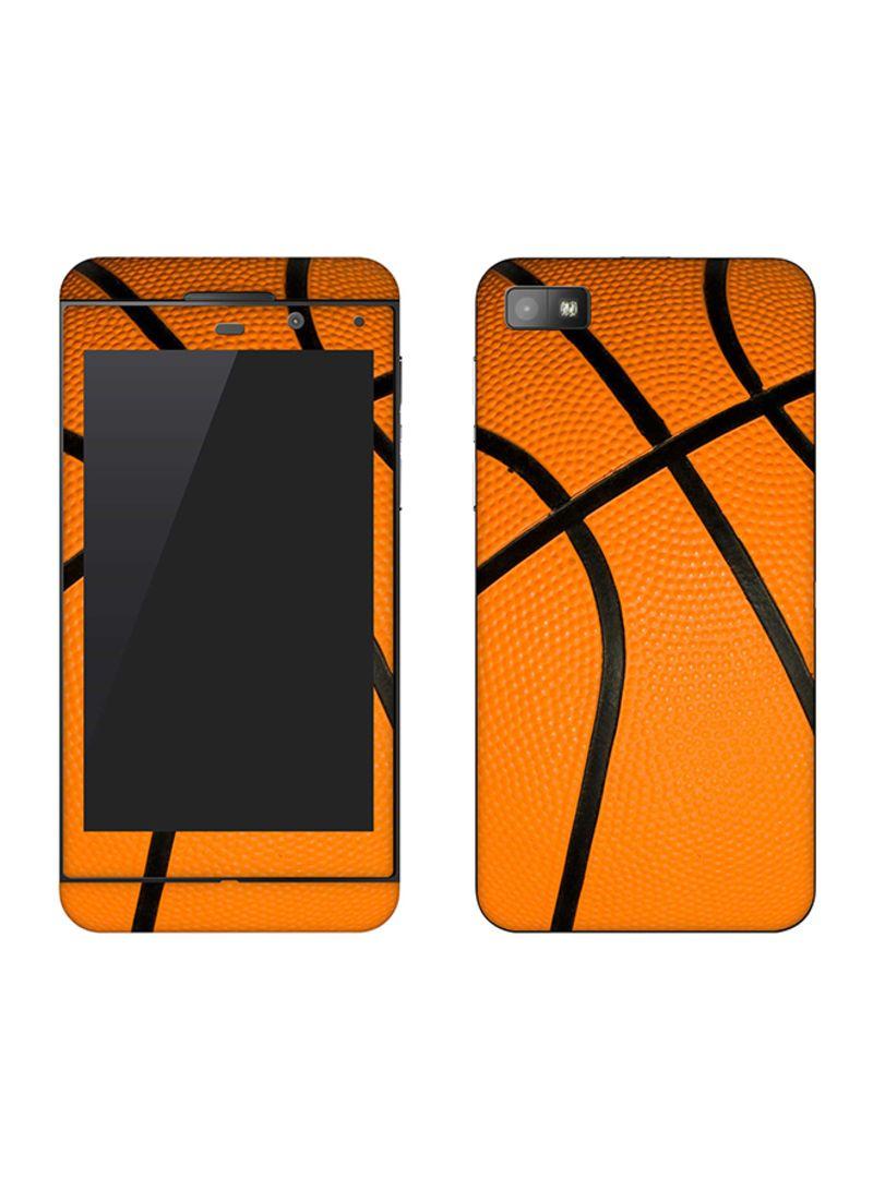 Vinyl Skin Decal For BlackBerry Z10 Basketball