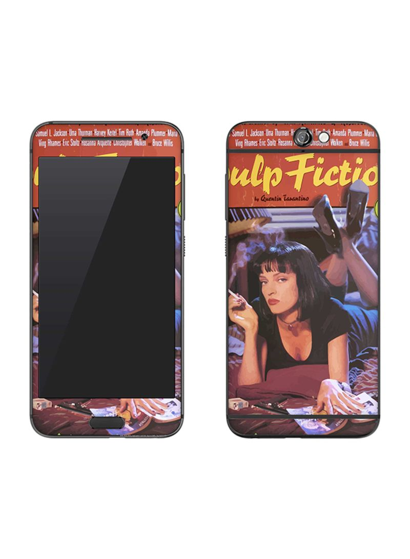Vinyl Skin Decal For HTC One A9 Pulp Fiction
