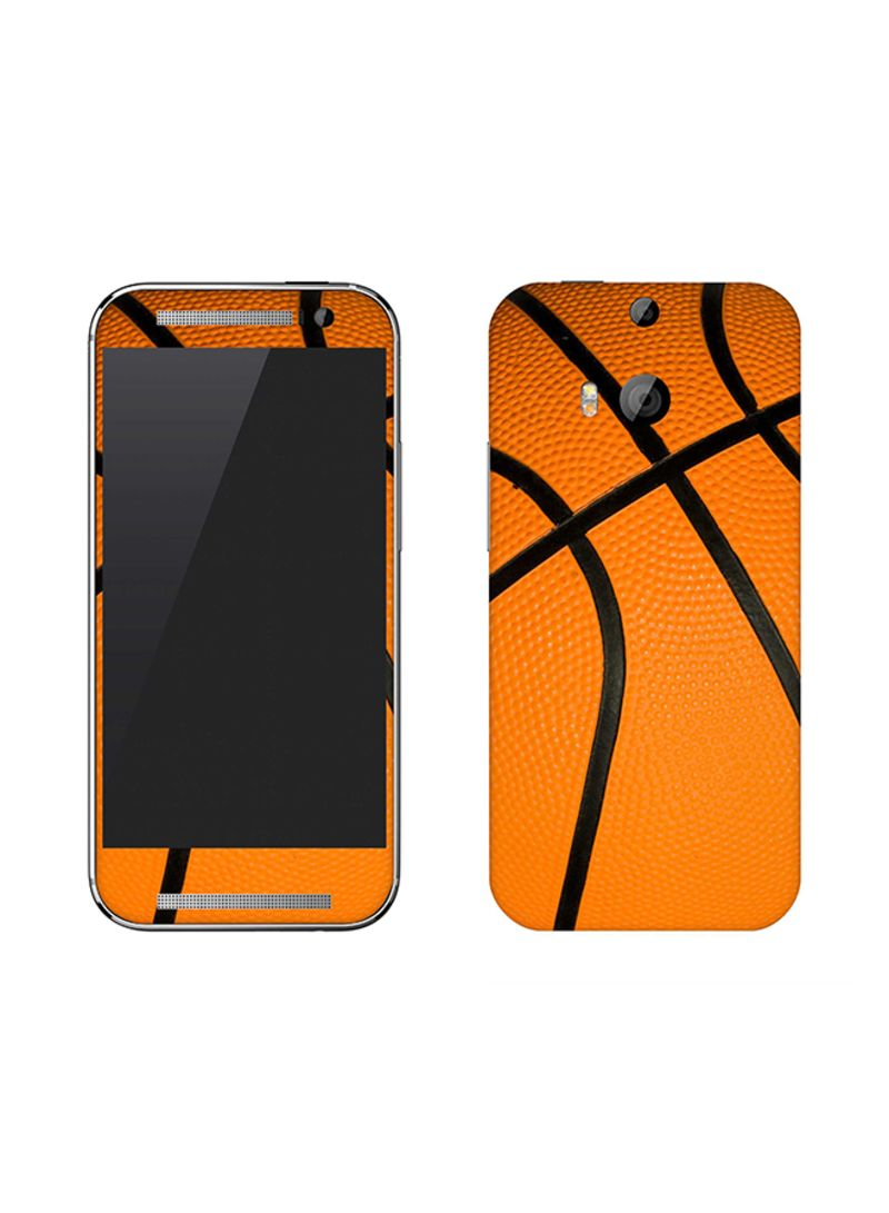 Vinyl Skin Decal For HTC One M8 Basketball